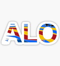 Fernando Alonso TV Tag Sticker