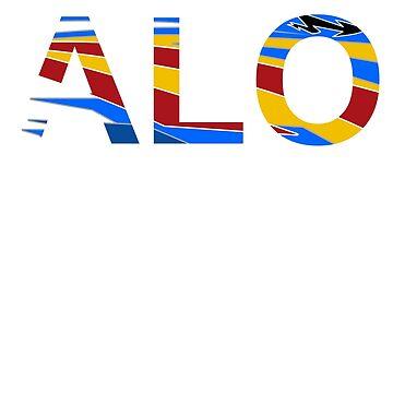 Fernando Alonso TV Tag by robbybrillantes