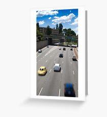 Mitchell Freeway, Perth Greeting Card