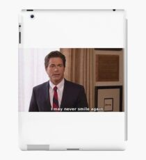 chris traeger iPad Case/Skin