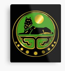 Chechen coat of arms Metal Print