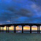 Sunset at Urangan Pier by Peter Doré