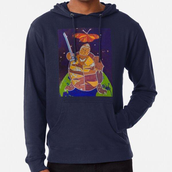 World Turtle King of Swords Lightweight Hoodie