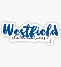 Westfield State Universität Sticker