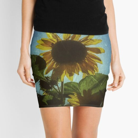Pentiction Sunflower Mini Skirt
