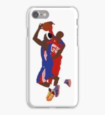 Kobe Bryant Block On LeBron James  iPhone Case/Skin