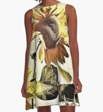 Penticton Sunflower A-Line Dress