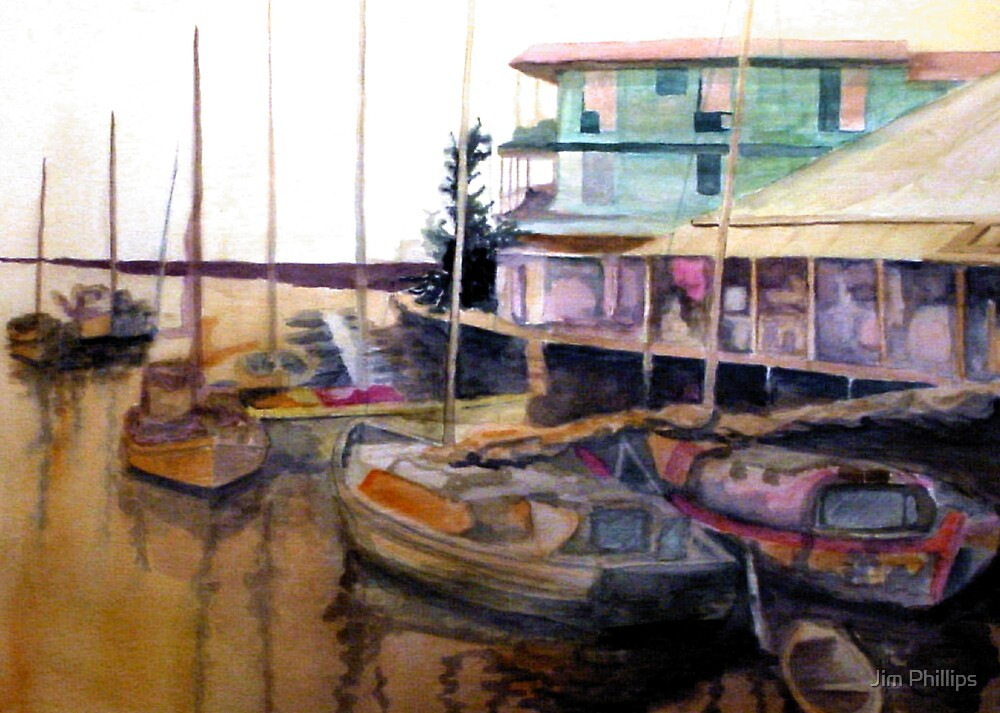 The Marina by Jim Phillips