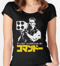 COMMANDO IN JAPANESE STYLE  Women's Fitted Scoop T-Shirt