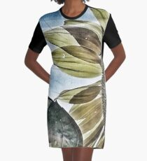Penticton Sunflower Graphic T-Shirt Dress