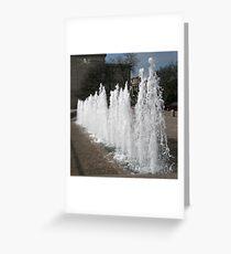 DC Fountain Greeting Card