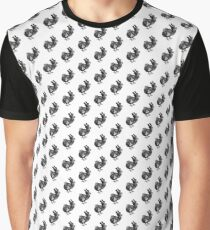 Mr Dodo | Black and White Graphic T-Shirt