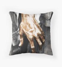 Vietnam Statue Hand Throw Pillow