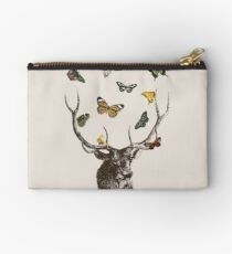 The Stag and Butterflies Studio Pouch