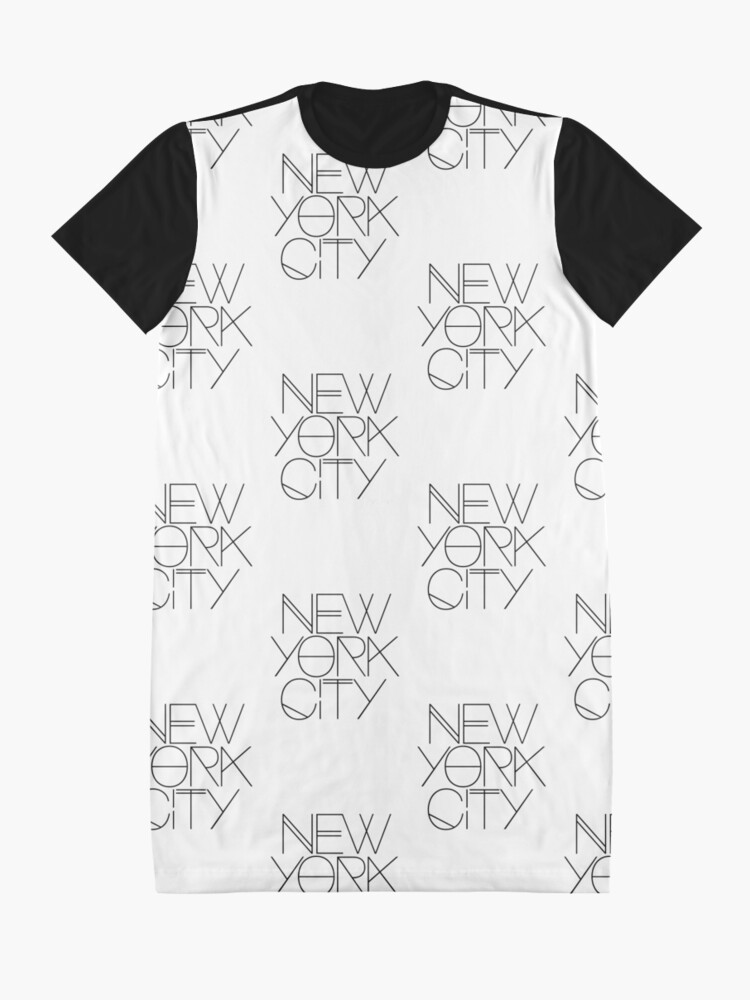 Vista alternativa de Vestido camiseta Nueva York.