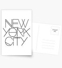 Postales Nueva York.