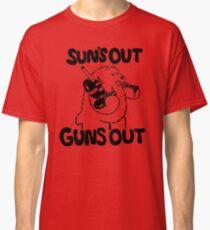 Sun's Out Guns Out Bear Classic T-Shirt