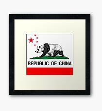 Republic Of China Framed Print