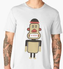 Monkey Robot Geometric Art Men's Premium T-Shirt