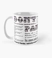 'Hitchhiker's Guide to the Galaxy' Quotes Mug