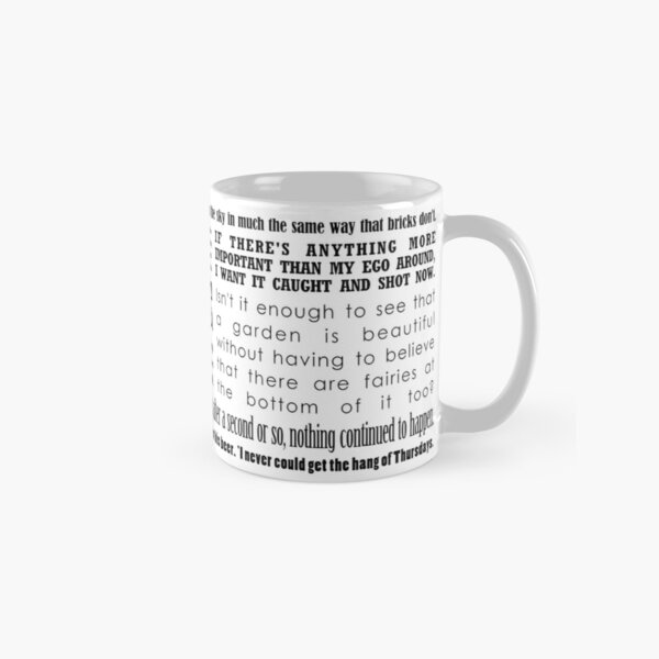 'Hitchhiker's Guide to the Galaxy' Quotes Classic Mug