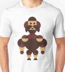 Big Muscle Robot Geometric Unisex T-Shirt