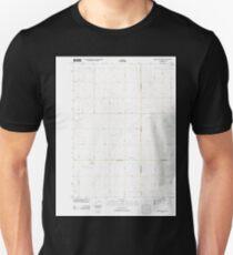 USGS TOPO Maps Iowa IA Rush Lake West 20130415 TM Unisex T-Shirt