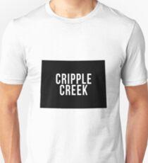 Cripple Creek, Colorado Silhouette T-Shirt