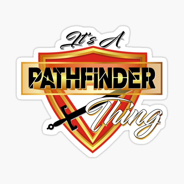 Cosa de Pathfinder Pegatina