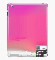 Mist liquid particles versus void eye burning whiteness iPad Case/Skin