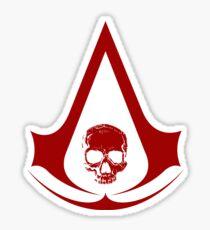 Assassin's Creed IV Black Flag Sticker