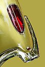 Abstract Yellow '58 Corvette by dlhedberg