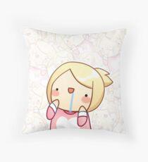 Abba Derp Throw Pillow