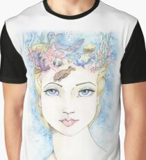Water On the Brain Graphic T-Shirt