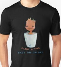 plant a tree save the galaxy Unisex T-Shirt