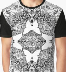 Butterfly Topiary Graphic T-Shirt