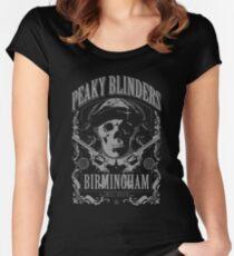Peaky Blinders Birmingham Women's Fitted Scoop T-Shirt