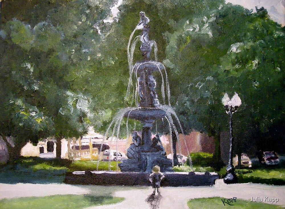 Fountain Park by Julia Kapp
