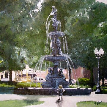 Fountain Park by juliakapp