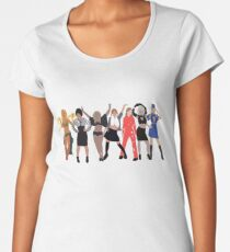 Pop Princess Evolution  Women's Premium T-Shirt