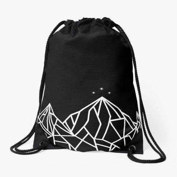 NIGHT COURT MOUNTAINS  Drawstring Bag
