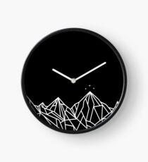 NIGHT COURT MOUNTAINS  Clock