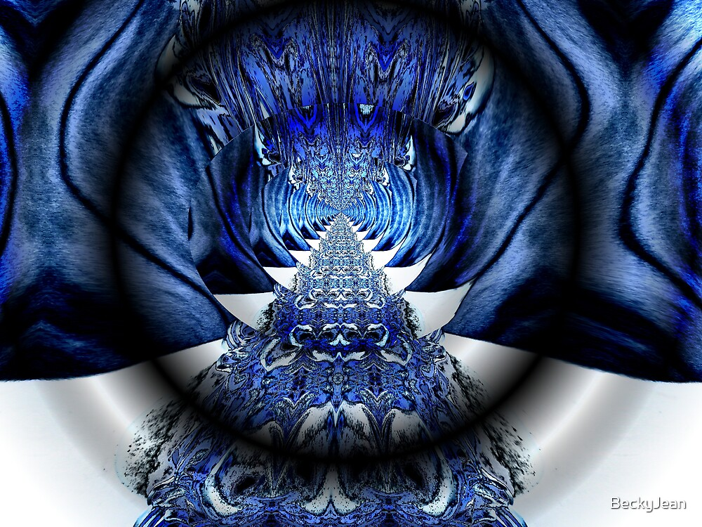 Blu's Way by BeckyJean
