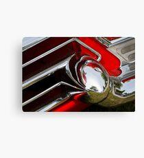 Cadillac Chrome Canvas Print
