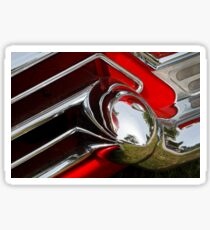 Cadillac Chrome Sticker