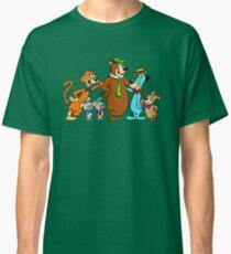 Yogi Bear, Boo Boo, Mr Jinx, Pixie and Dixie and Huckleberry Hound Classic T-Shirt