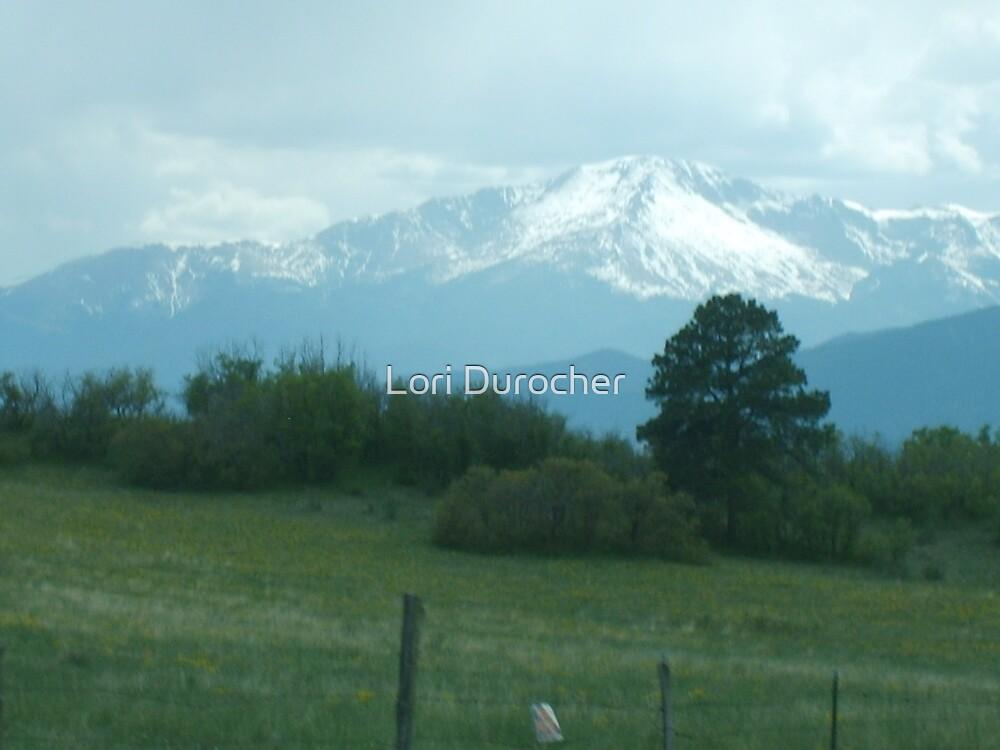 Pikes Peak by Lori Durocher