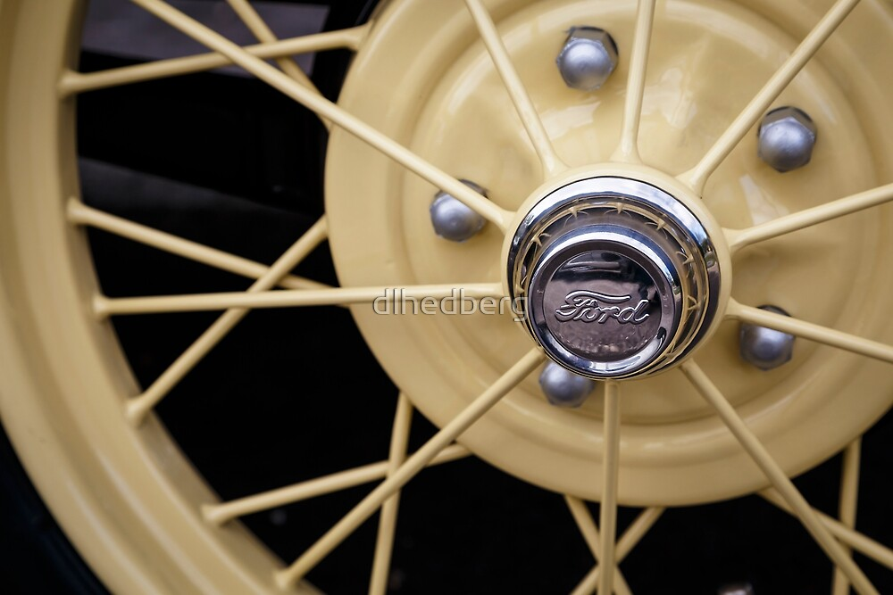 Model A Wheel by dlhedberg