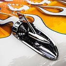 1957 Chevrolet in Flames by dlhedberg