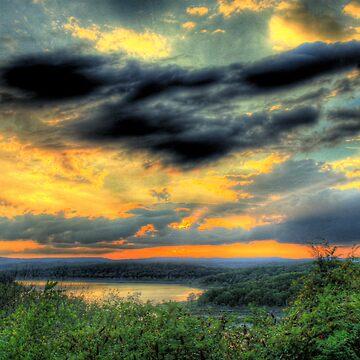 The Sky Dance by CKEphotos